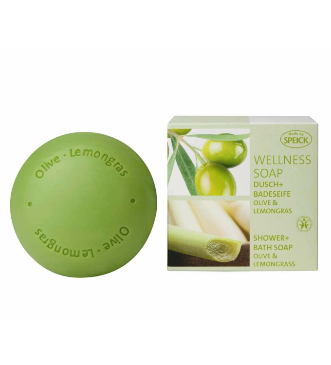 Wellness Soap BDIH Olive & Lemongras (200g)