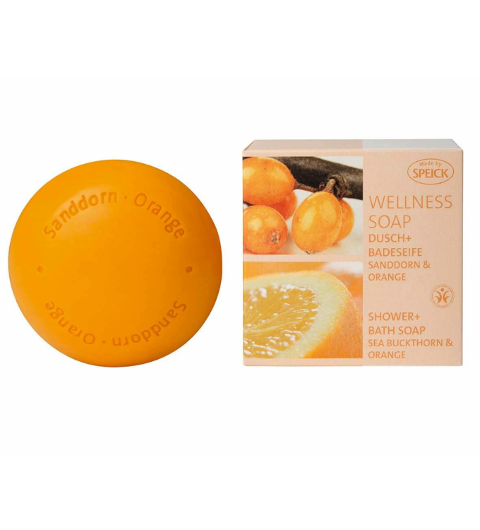 Wellness Soap BDIH Sanddorn & Orange (200g)