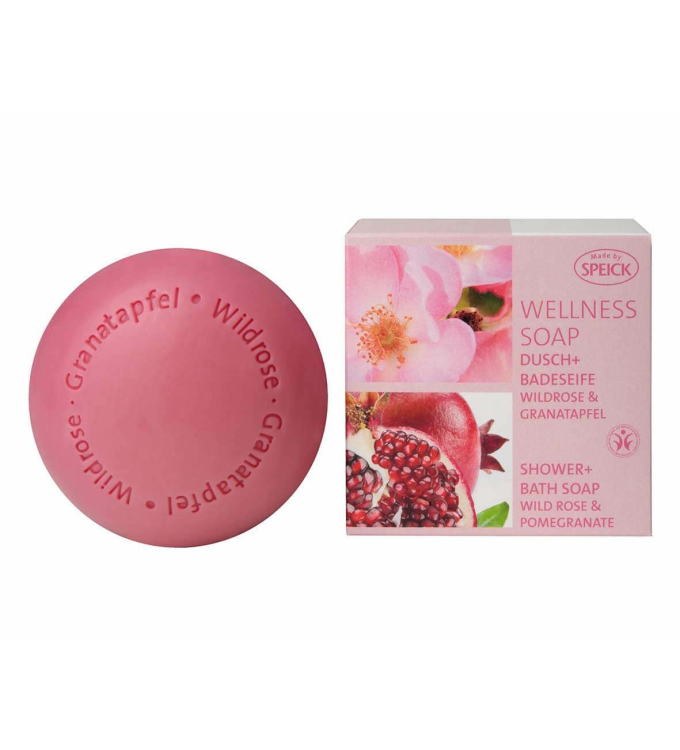 Wellness Soap BDIH Wildrose & Granatapfel (200g)